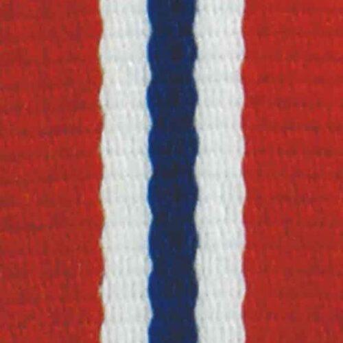Medaljband Norge långt, 22mm bredd (70003)