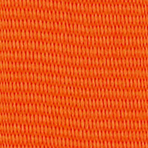 Medaljband orange långt, 22mm bredd (70037)