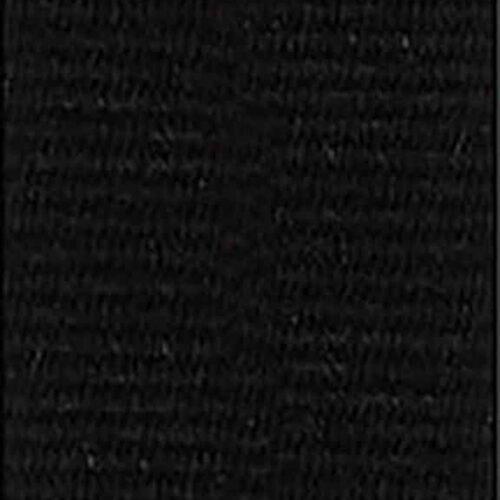 Medaljband svart långt, 22mm bredd (70042)