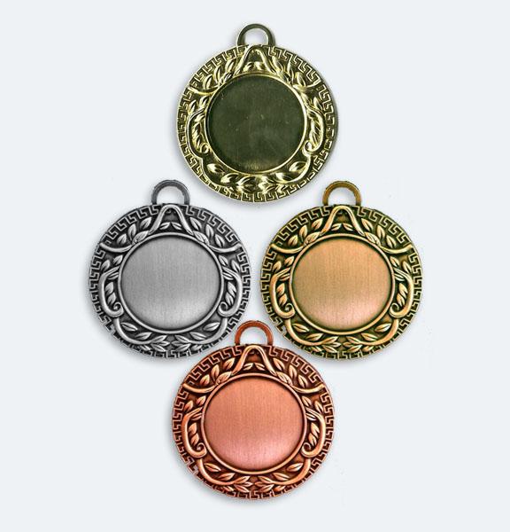 Medaljer 42mm i Guld, Silver, Brons och Koppar - 11507-1,2,3,4