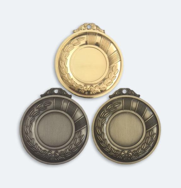 Medaljer 50mm i Guld, Silver och Brons - 11524-1,2,3