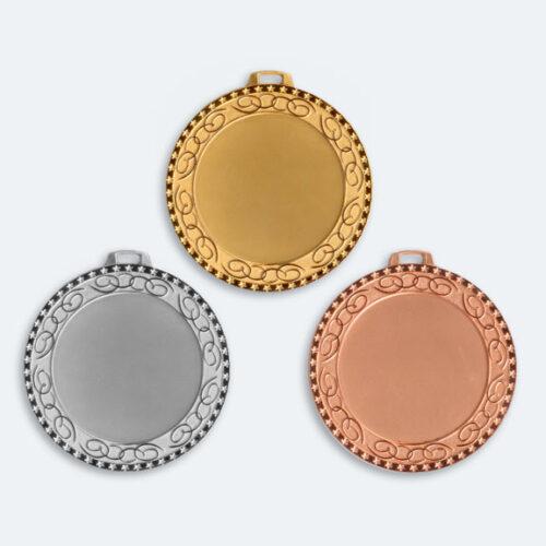 Medaljer 70mm i Guld, Silver och Brons - 11519-1,2,3