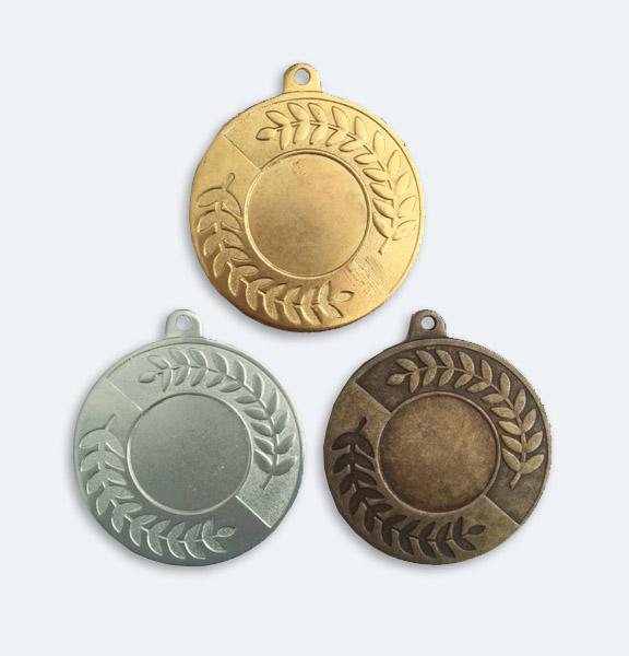 Medaljer Spegeln 50mm i Guld, Silver och Brons - 11551-1,2,3