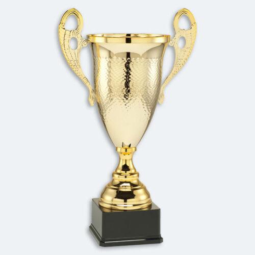 Frösön - Pokal i guld med svart marmorsockel (24111)