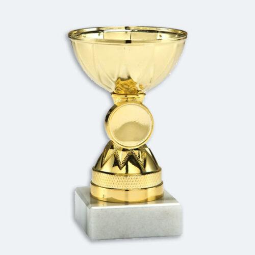 Gendt - Pokal i guld med plats för motiv (24001)
