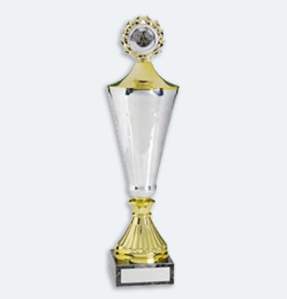 Hamburg - Pokal i guld med lock (22521)