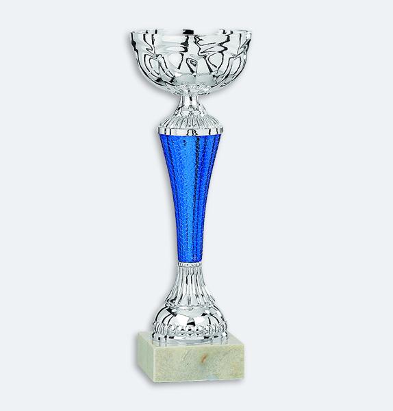 Labin - Silver- och blåfärgad pokal (41271)