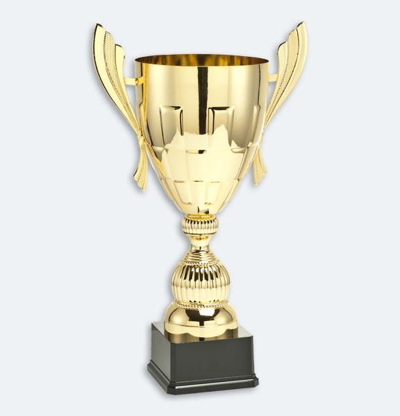 Liverpool - Pokal i guld med svart sockel (24061)